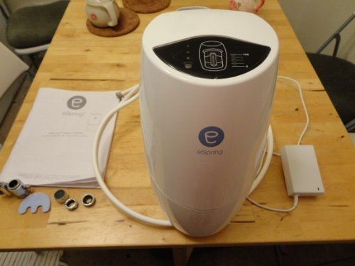 Amway eSpring Countertop water filter review